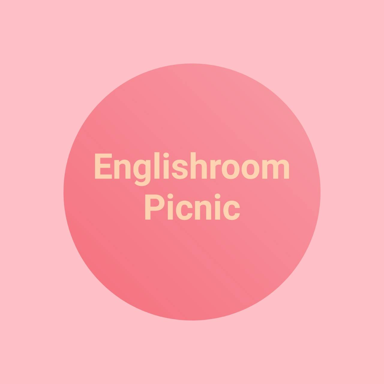 Englishroom Picnic